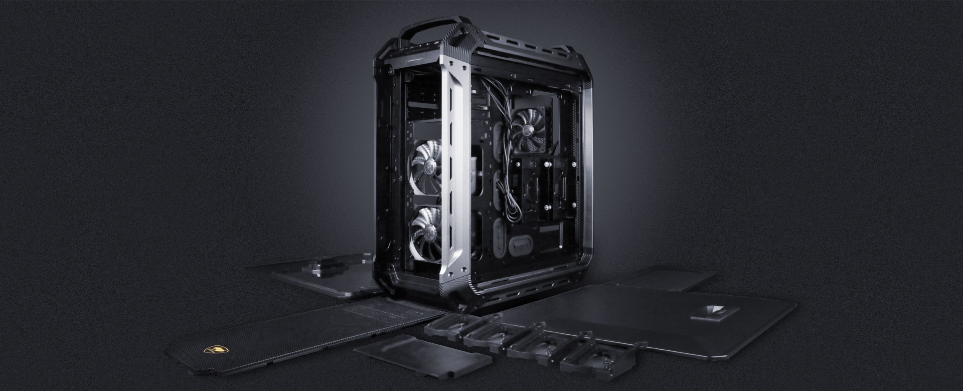 Cougar Panzer Max The Ultimate Full Tower Gaming Case Corsair Cases Wiring Diagrams Superior Expandability