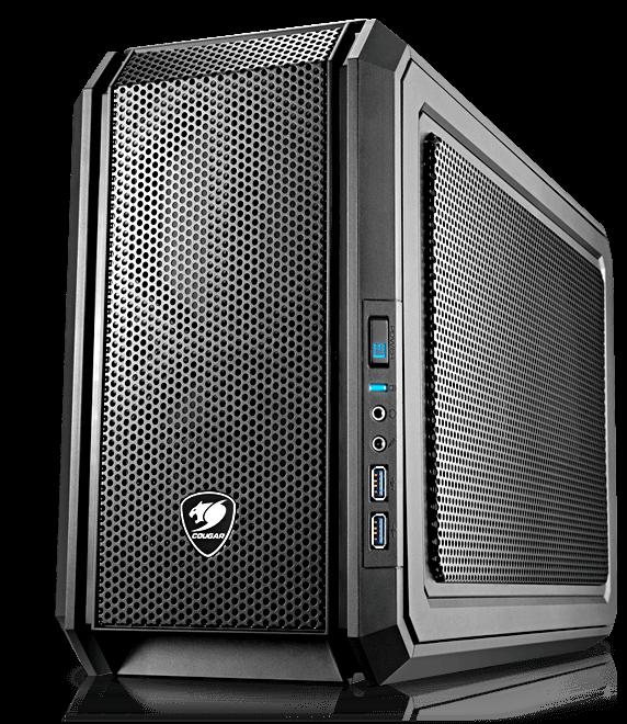 QBX KAZE - Ultra-Compact Pro Gaming Mini-ITX Case