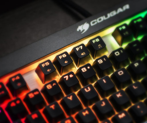 COUGAR ATTACK X3 RGB - Dedicated Media Keys