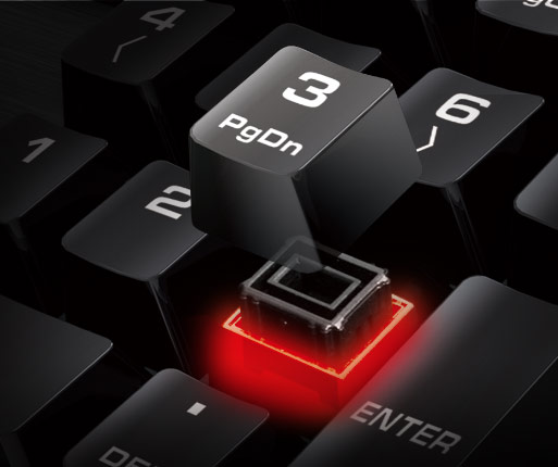 COUGAR DEATHFIRE - HYBRID MECHANICAL KEY SWITCH