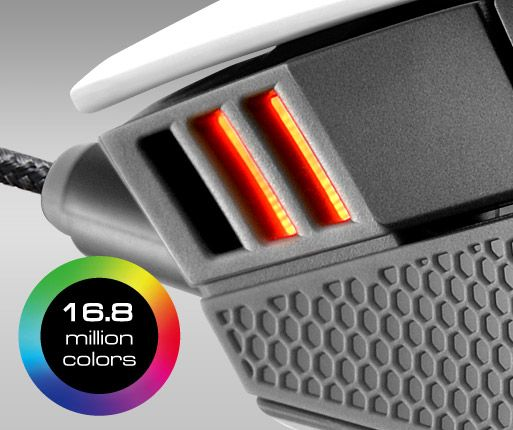 COUGAR 500M - 3-STAGE RGB DPI LED INDICATOR