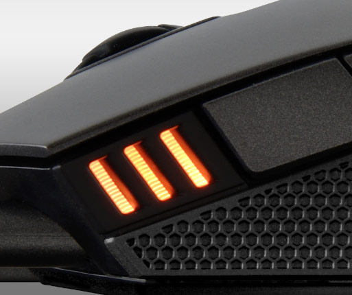 COUGAR Revenger - INDICADOR LED RGB DE 3 FASES PARA DPI