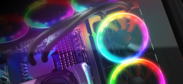 COUGAR Gemini T - RGB Glass-Wing Mid-Tower Gaming Case - COUGAR