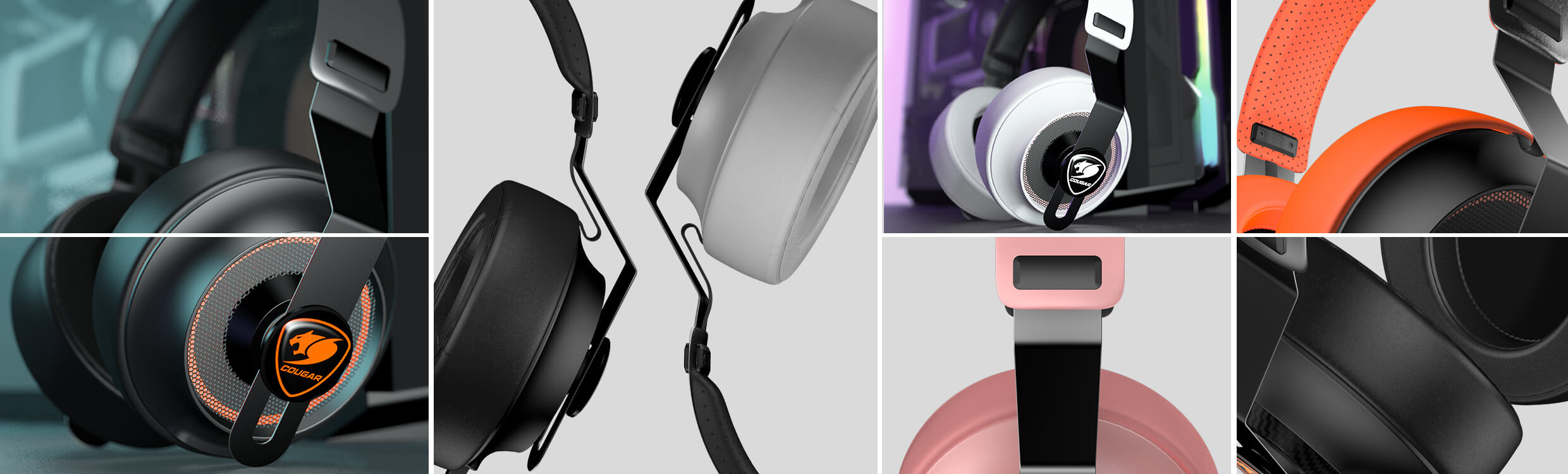 Cougar PHONTUM ESSENTIAL Stereo Gaming Headset - Pink 5