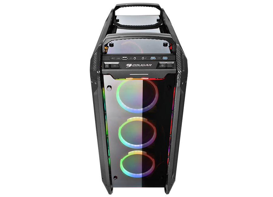 PANZER EVO RGB - The RGB Crystalline Titan - COUGAR