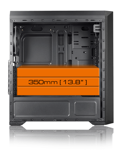 Cougar MX350 RGB Enhanced Visibility Mid-Tower Case 13