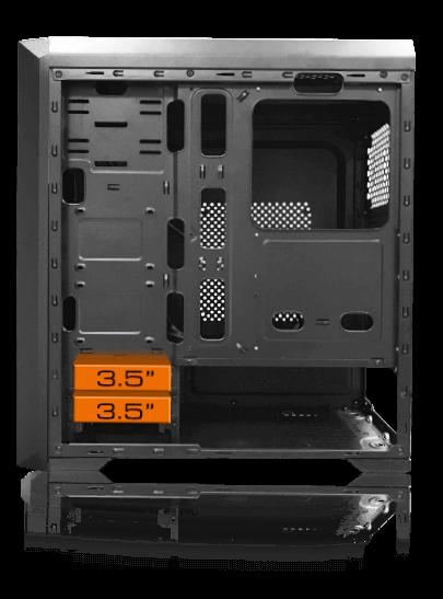 Cougar MX350 RGB Enhanced Visibility Mid-Tower Case 15