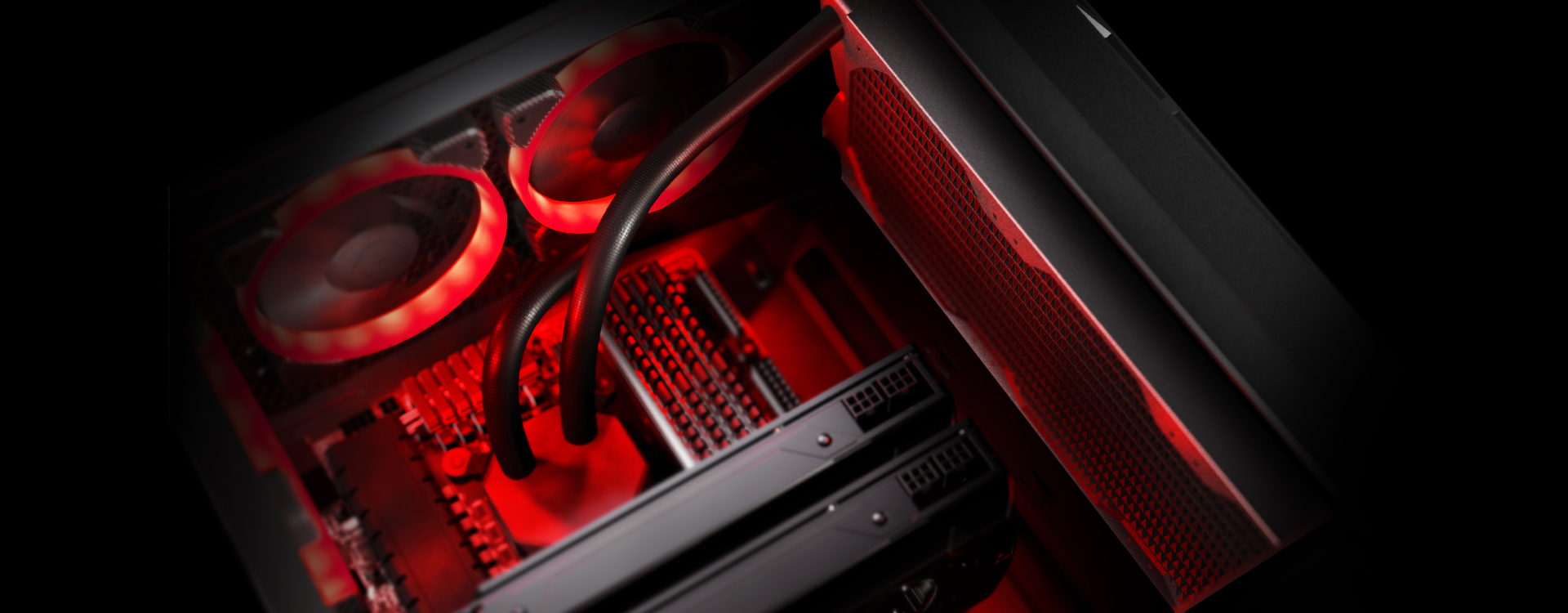 COUGAR TURRET - Pro-Cooling Compact Gaming Case with Tempered Glass