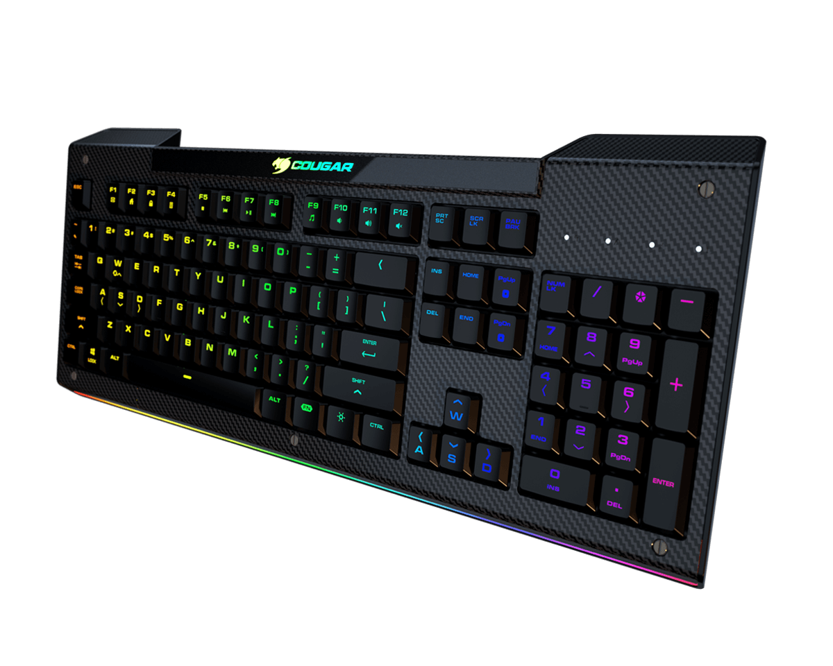 Cougar Aurora S Membrane Gaming Keyboard Cougar