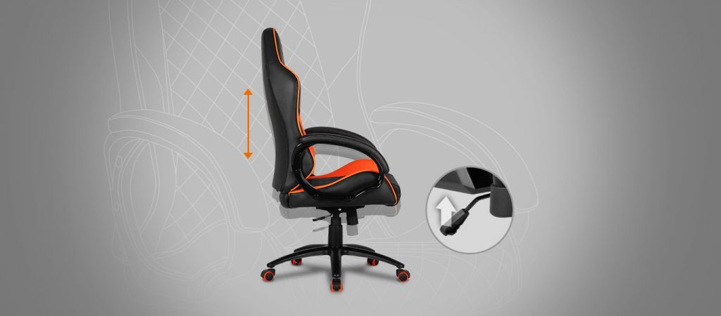 Cougar FUSION High-Comfort Gaming Chair - black 4