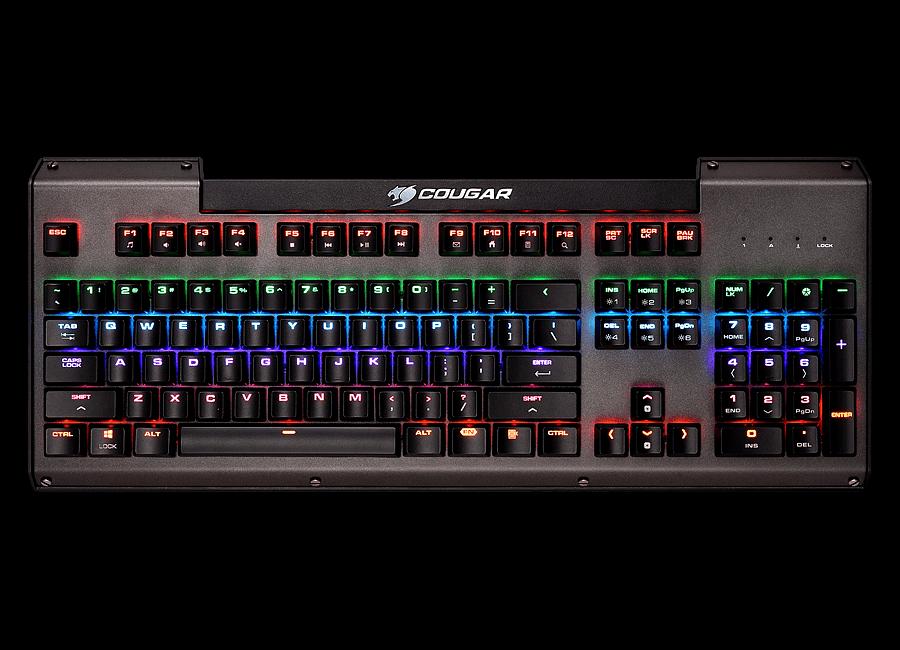 4241c4f1c55 COUGAR ULTIMUS - Multicolour Mechanical Gaming Keyboard - COUGAR