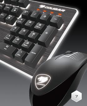 Cougar DEATHFIRE Gaming Gear Combo 30