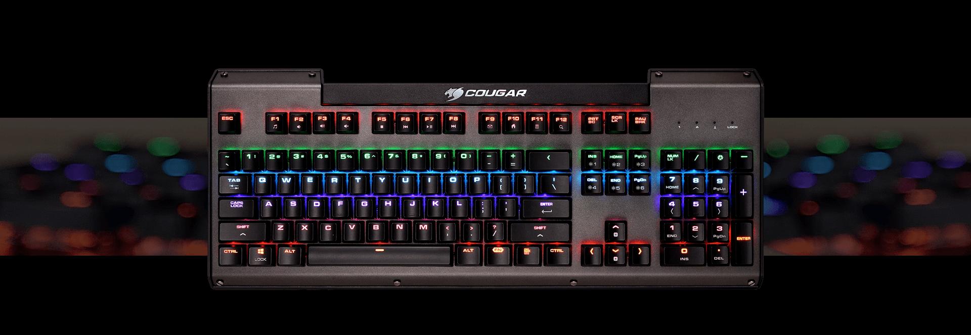 COUGAR ULTIMUS - Multicolour Mechanical Gaming Keyboard - COUGAR