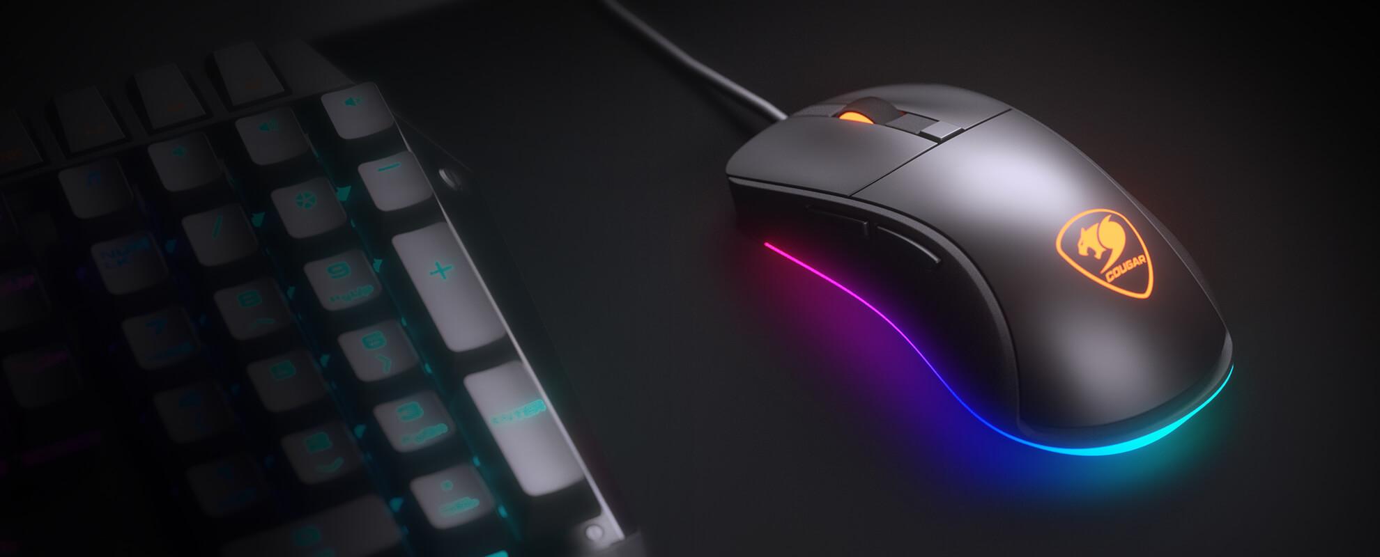 Éclairage RGB puissant