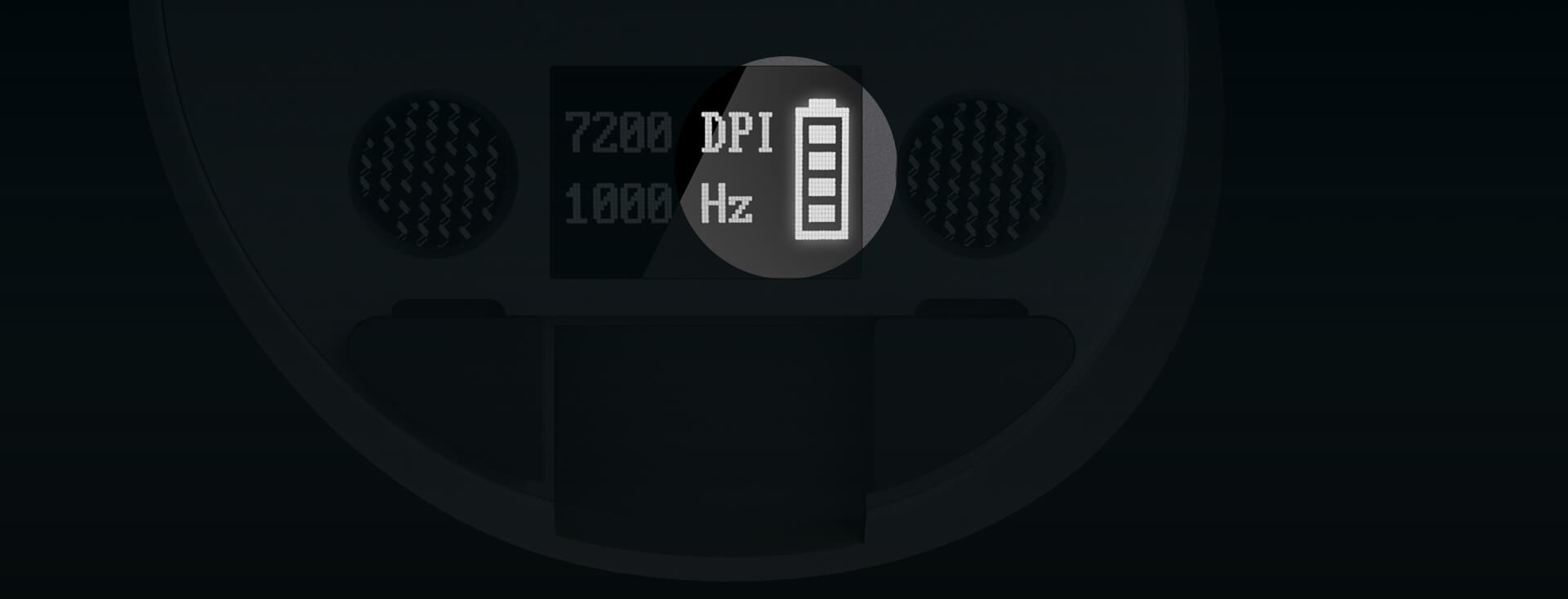 Affichage du niveau de la batterie
