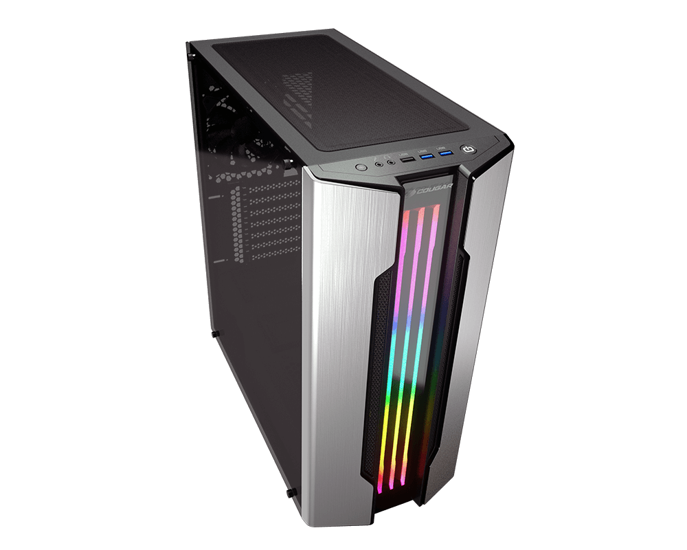 COUGAR Gemini S - RGB Mid-Tower Gaming Case - COUGAR