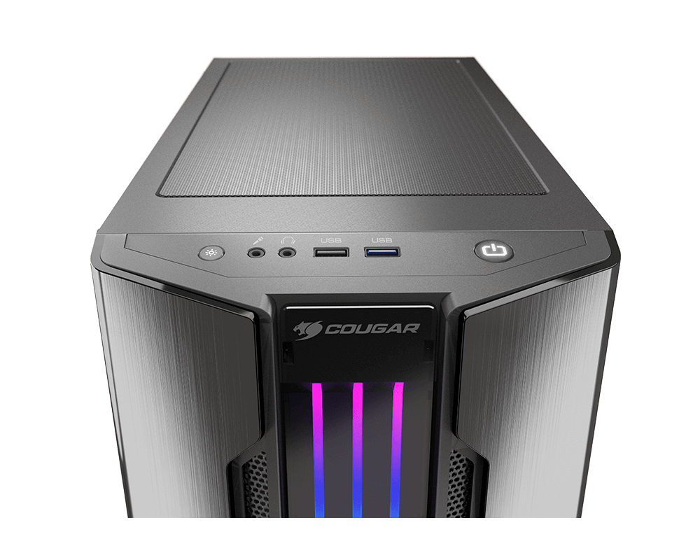 COUGAR Gemini M - RGB Mini Tower Gaming Case - COUGAR