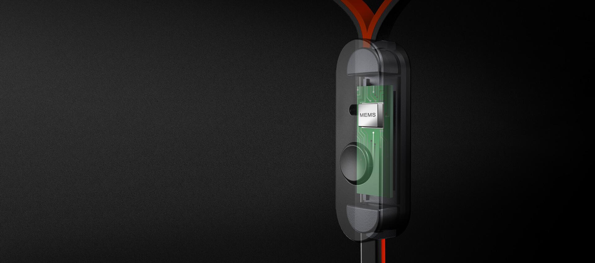 Micro MEMS avec bouton de commande universel
