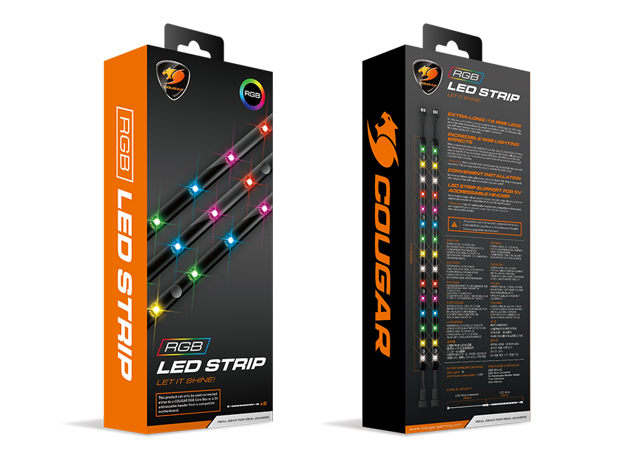 RGB LED STRIP - COUGAR
