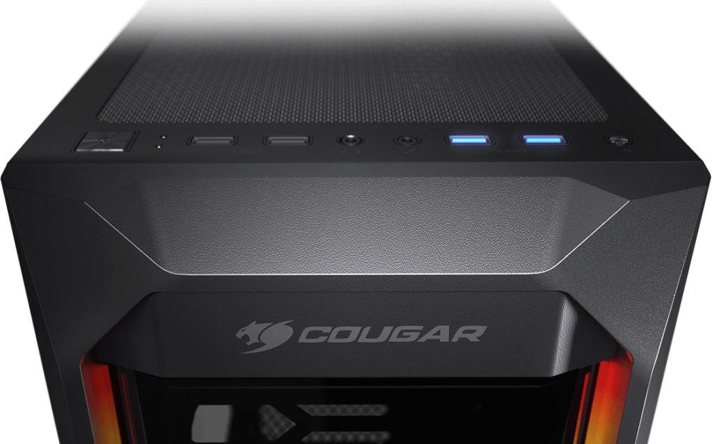 Cougar MX410-T Powerful and Compact Mid-Tower Case with Dual ARGB Strips 15