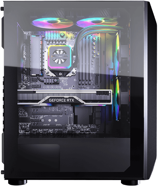 COUGAR MX410 Mesh-G - Mid Tower Case - COUGAR