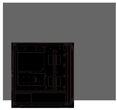 product-section-06-01 COUGAR DarkBlader X7 ARGB Mid Tower BLACK  TG - USB-3.0 - 1x  Fan - GameDude Computers