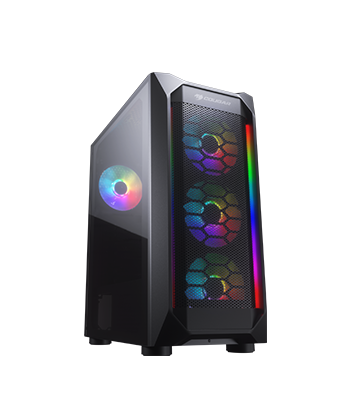 COUGAR MX410 Mesh-G RGB Gaming Case