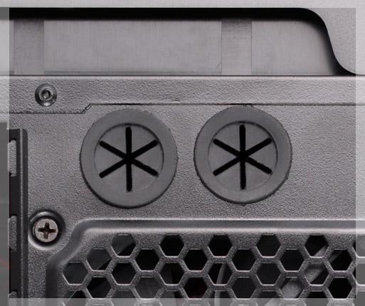 COUGAR MX310 - Soporta sistemas de refrigeración líquida