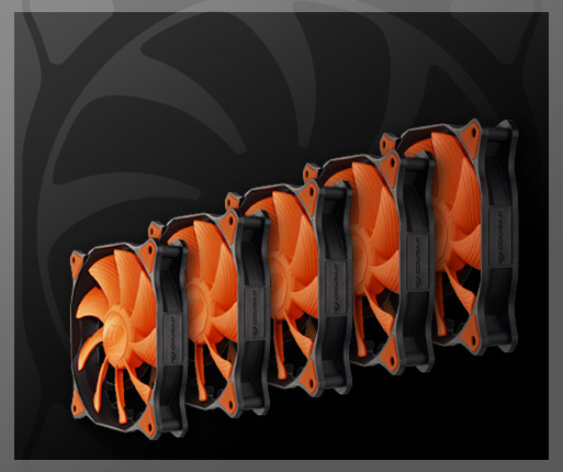 COUGAR MX310 - Support for 5 fans