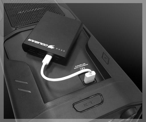 COUGAR MX310 - Un cargador USB de alta velocidad para tus dispositivos.