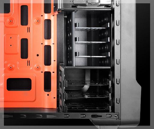 COUGAR MX310 - Tres Compartimentos de 2,5