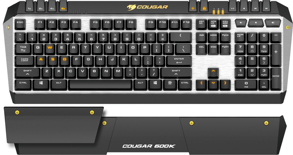 COUGAR 600K - Gaming in Its Purest State