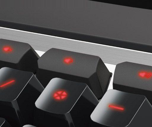 COUGAR ATTACK X3 - Dedicated Media Keys
