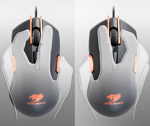 COUGAR 250M - Ambidextrous Gaming Design