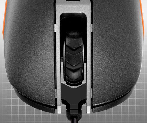 COUGAR 450M - Micro interruptores OMRON para jogos