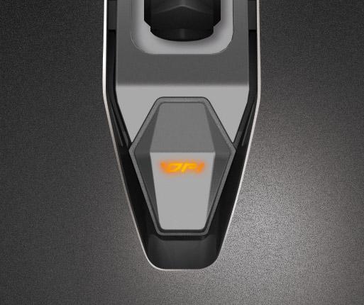 COUGAR 450M - INDICADOR LED RGB DE 3 FASES PARA DPI Y AJUSTE INSTANTÁNEO DE DPI