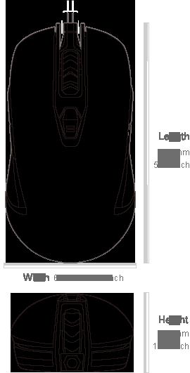 COUGAR 450M - Dimensiones