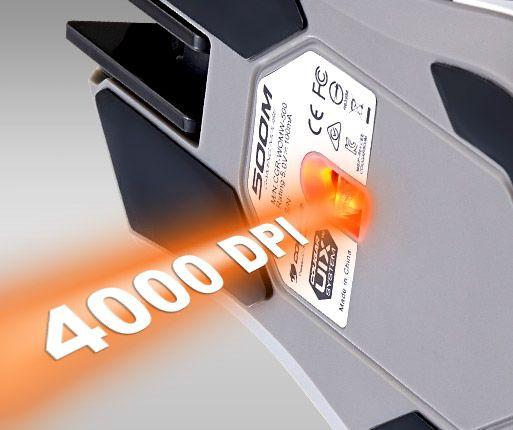 COUGAR 500M - SENSOR PARA JOGOS ULTRA PRECISO DE 400 DPI
