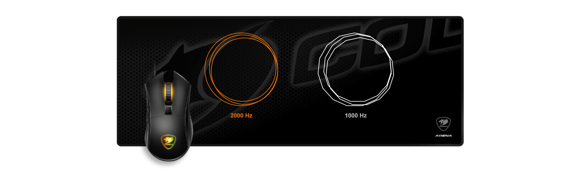 COUGAR Revenger S - Multi-color Backlight System (2 Zone RGB)