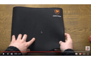 CONTROL 2 WATERPROOF Mousepad - Cougar Gaming